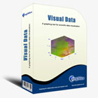 A scientific data visualization software that creates many visual representations of regular and irregular scientific data, with import from Excel and export to BMP.