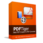 PDFTiger converts text, Word, Excel, PowerPoint, and any printable document into the PDF format, and converts PDF to Word, text, JPG, HTML, and Flash.