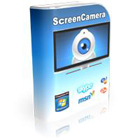 ScreenCamera is a virtual camera, a desktop recorder, and a webcam splitter, allowing you to stream or record your PC desktop while the webcam captures your image.