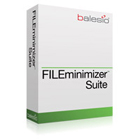FILEminimizer Suite V7 is an amazing app that reduces the size of Word, PowerPoint, Excel, PDF, and image files by 98% without changing their formats or losing quality.