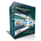 XHeaderPro gives you access to 5,000 professionally-designed headers that you can use, over and over, on as many sites as you wish.
