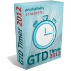 GTD Timer 2010 Professional implements the GTD Two Minute rule, assisted by a highly configurable countdown timer for your desktop.