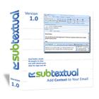 Subtextual is a plugin for Microsoft Outlook that gives you the power to add additional information to selected recipients of a mass email.