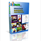Kidware Conversion Bundle, a cornucopia of fun that includes Photo Color Deluxe and Comic Maker Pro, lets you create custom coloring books and comic strips.