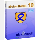abylon BASIC provides full protection of your files during storage and transmission through encryption.