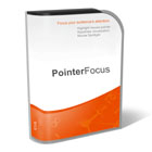 PointerFocus provides a number of useful tools designed to highlight your pointer, and more importantly, the things that you're pointing it at!