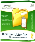 Directory Lister Pro lets you save, print out, or email file directory listings, and Backup Dwarf helps you back up those files.