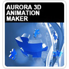 Aurora 3D Animation Maker lets you create beautiful 3D animations, letting you take text or logos to a whole new level of awesomeness.