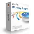 DVDFab Blu-ray Copy is a powerful copying program that removes all copy protections, letting you copy any Blu-ray movie to a disc or to your hard drive.