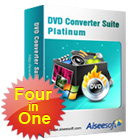 Aiseesoft DVD Converter Suite Platinum includes a DVD ripper, a video converter, a DVD creator, plus software that lets you transfer files between your computer and your iPhone.