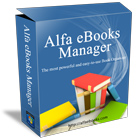 Alfa eBooks Manager lets you organize both electronic and paper books in a single consolidated fully searchable library.