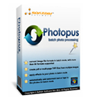 Photopus Standard is the ideal solution for photo file format conversion, watermarking, resizing, touch-ups, and special effects for all of your digital photos.