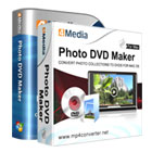 4Media Photo DVD Maker lets you create customized photo slideshows on DVD, complete with special effects, transitions, and background music.