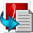 Enolsoft PDF to Text for Mac lets you convert normal and scanned PDF documents to plain text format, saving valuable time and effort.