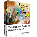 TwistedBrush Pro Studio is an outstanding image editor that lets you work with realistic media such as pastels, oils, watercolors, and more.