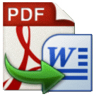 PDF to DOC lets you convert PDF files to Word or WordPad formats, with the option to convert multiple documents in batch.