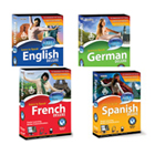 Learn To Speak Language Software lets you quickly learn to speak Spanish, French, German, English, and more, with unique features that ensure maximum learning and retention.