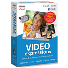 Video Expressions Platinum lets you create and share movies in minutes, complete with easy editing, burning, and sharing features.