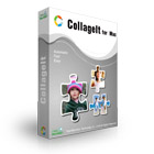 CollageIt for Mac is an intuitive application that automatically builds photo collages, using anywhere from a handful of photos up to 200 images.