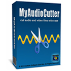 My Audio Cutter lets you cut audio files into smaller segments, with an intuitive interface, preview ability, and fade-in/fade-out effects.