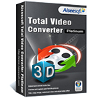 Aiseesoft Total Video Converter Platinum (Win/Mac) (Mac & PC) Discount Download Coupon Code