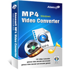 Aiseesoft MP4 Video Converter lets you convert all popular video and audio file formats to MP4, while letting you extract audio clips from videos.
