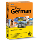 Easy German Platinum is a fast and easy way to learn German, perfect for facilitating international conversations during vacation or in business meetings.