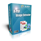 A-PDF Image Extractor lets you extract images from PDF files in batch, saving the files in a variety of image formats.