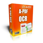 A-PDF OCR lets you OCR scanned PDF or paper documents, transforming them into searchable text files or PDF documents quickly and easily in just one click.
