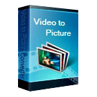 Video to Picture Converter lets you convert videos in a variety of formats to a series of image files, or as an animated GIF composed of those still shots.