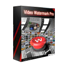 Video Watermark Pro lets you guard against unauthorized use and sharing of your videos by embedding text, image, logo, and signature watermarks in them.