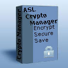 ASL Crypto Manager lets you protect and transfer your information under heavy encryption, allowing you to rest easy knowing your data is safe and secure.