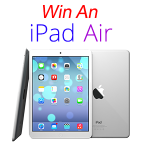 Who will win a brand new iPad Air in the BitsDuJour Design Sweepstakes? Prizes also include fantastic software. Ends soon!