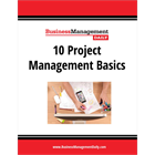 10 Project Management BasicsDiscount