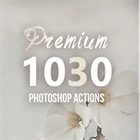 Infographic: 1030+ Premium Photoshop Actions for Mac & PC