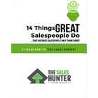 14 Things GREAT Salespeople Do, That Average Salespeople Only Think About (Mac & PC) Discount