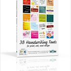 38 Handwriting Fonts (PC) Discount