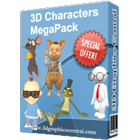 3D Character MegaPack (PC) Discount Download Coupon Code