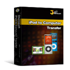 3herosoft iPod to Computer Transfer (Mac & PC) Discount Download Coupon Code