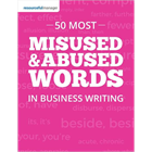 50 Most Misused & Abused Words in Business Writing (Mac & PC) Discount