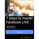 7 Steps to Master Facebook LIVEDiscount