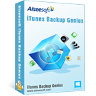 Aiseesoft iTunes Backup Genius (PC) Discount