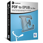 AnyBizSoft PDF to EPUB for Mac (Mac) Discount Download Coupon Code
