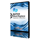 Batch Word Replace (PC) Discount
