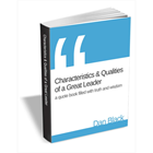Characteristics & Qualities of a Great Leader - Quote Book (Mac & PC) Discount