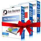 Disk Doctors Bundle - Data Sanitizer, File Shredder and Drive Manager (PC) Discount Download Coupon Code