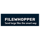 Infographic: FileWhopper: transfer big files and folders online for Mac & PC
