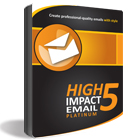 High Impact eMail 5 Platinum (plus 3 Months to the TemplateZone Store) (PC) Discount Download Coupon Code