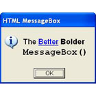 HTML MessageBox (PC) Discount Download Coupon Code