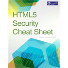 HTML5 Security Cheat Sheet (Mac & PC) Discount